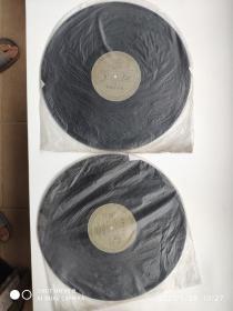 黑胶唱片 世界名曲集2、4、6、10 共4张合售 尺寸:  30 × 30 cm