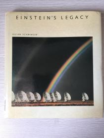 Einstein's Legacy - The Unity of Space and Time    精装英文原版    宽幅