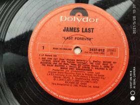 黑胶唱片Polydor---James Last詹姆斯.拉斯特金曲系列 尺寸:  30 × 30 cm