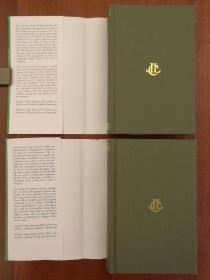 The Iliad: Volume I & Volume II, Books 1-12, Books 13-24 (布面精装,全套两卷合售)(现货,实拍书影)