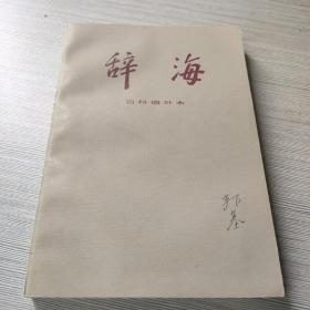 辞海 百科增补本