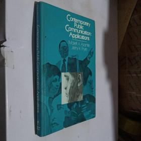 Contemporary Public Communication:Applications