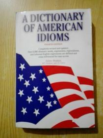 A Dictionary of American Idioms(书边有水印)