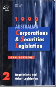 1998AUSTRALIAN Corporations&Securities Legislation2