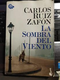 la Sombra del viento 西班牙语原版 <风的影子>