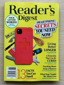 READER'S DIGEST 美国版读者文摘2021年6月英文生活类杂志