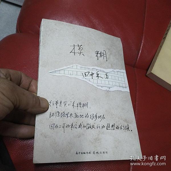 模糊(一部两代人共读的青春长歌,邮袋+书稿=岁月的时光礼物,献给我们模糊的人生,孟繁华、陈众议倾力推荐!)