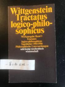 维特根斯坦全集1 Tractatus logico-philosophicus 逻辑哲学论 Tagebücher 1914-1916 日记 Philosophische Untersuchungen 哲学研究 etc.
