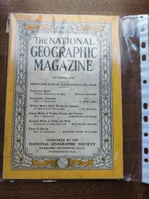 The National Geographic Magazine 美国国家地理 1936年10月 西班牙 危地马拉  长尾的美鸟  鸟类