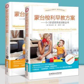蒙台梭利早教方案--0-3岁儿童感官智力及语言系统训练 蒙氏蒙台梭利早教全书益智游戏书家庭教育父母必读育儿书籍好妈妈正面管教