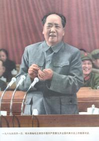 伟大领袖毛主席在中国共产党第九次全国代表大会上作重要讲话