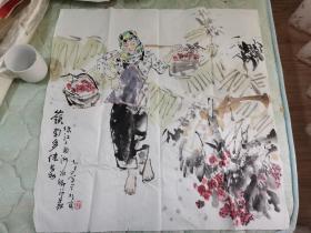 精品:中国美术家协会会员、国家一级美术师谢志高: 岭南多佳丽,秀色可餐,欲把西湖比西子,浓妆淡抹总相宜。