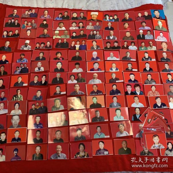 彩色照片165张 见图(背面有姓名) /