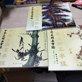 中华文明五字经 【第一、二、三册】全三册 带盒