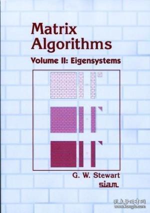 Matrix Algorithms, Volume Ii