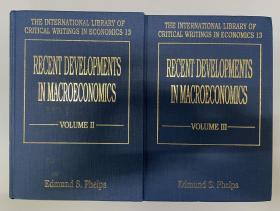 Recent Developments in Macroeconomics (第2、3卷,International Library of Critical Writings in Economics)
