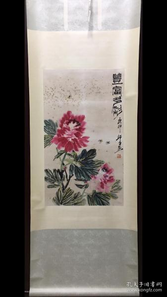 娄师白,花卉立轴(议价)