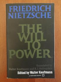 The Will to Power(现货,实拍书影)