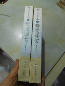 中国古典小说名著普及版书系:野叟曝言(上下)