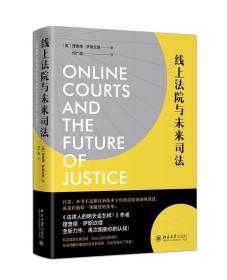 库存新书  线上法院与未来司法