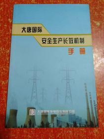 大唐国际安全生产长效机制手册
