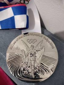 东京奥运会纪念章奖牌