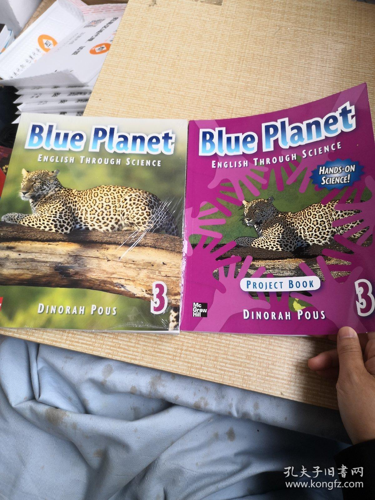 Blue  Plant3+PROJECT  BOOK   带盘。