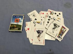 钓鱼大自然扑克(54张全)