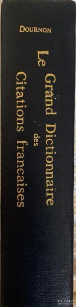 Dournon:法语名言引语大辞典   布面精装  书脊、封面烫金
