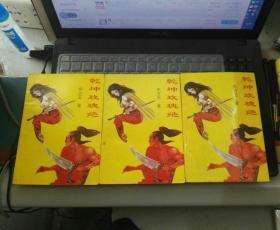 罕见孤本武侠小说:乾坤玫瑰绝(上中下) 1996年1版1印 印10000册