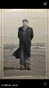特大杭州丝织厂(北戴河毛主席)120x250