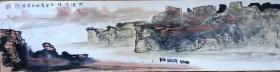 著名山水画家,国家一级美术师~焦建荣~精品山水(保真)