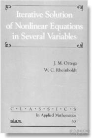 Iterative Solution Of Nonlinear Equations In Several Variables