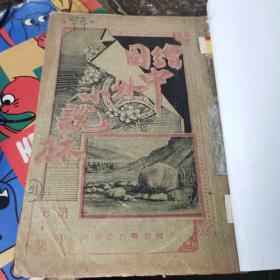 绘图中外小说林 第二年 第十一期  1908年印 罕见本 书第71页粘在最后面 (李育中 钤印 旧藏)