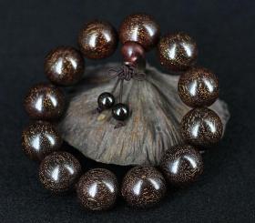 非洲小叶紫檀老料金星手串,小叶紫檀手串,小叶紫檀金星手链,满金星佛珠手串,佩戴和收藏珍品