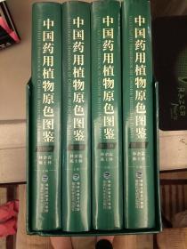 中国药用植物原色图鉴(套装共4册)全新正品小插精装     2021.5.28