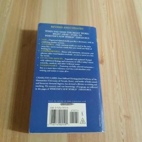 Websters New World Thesaurus by Charlton Laird - Tradeduck.com(有英语签名看图)
