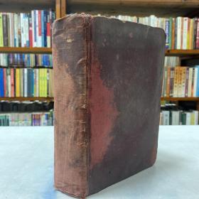 1906年外文原版《THE COMPLETE WORKS OF WILLIAM SHAKESPEARE》,莎士比亚全集,精装大32开一厚册,钤印:邻水欧阳予隽