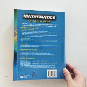 【外文原版】  Foundation Mathematics for Edexcel GCSE 爱德思GCSE基础数学