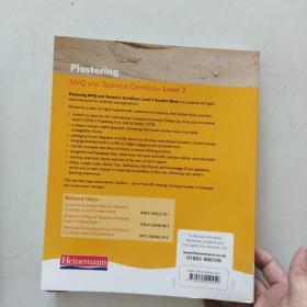 【外文原版】 Plastering: NVQ and Technical Certificate, Level 2