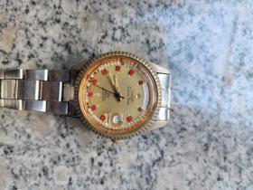瑞士梅花王全自动手表,还走,品如图