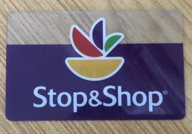 会员卡 超市会员卡 Stop&Shop会员卡 Stop & Shop 会员卡