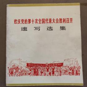 欢庆党的第十次全国代表大会胜利召开 速写选集