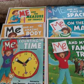 Me on the Map+Me and My Amazing Body+Me and the Measure of Things + Me Counting Time: From Seconds to Centuries +Me and My Family Tree (全六册)英文原版