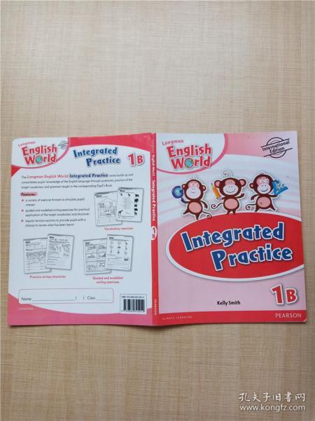 【外文原版】Integrated Practice 1B【内有笔迹】