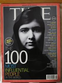 "Time magazine 时代周刊 2013年4月29日~5月6日  ""100大影响力人物"":主封面为马拉拉,内封面为艾隆.马斯克,李娜,阿米尔.汉,Jay-Z(并非5本杂志)"