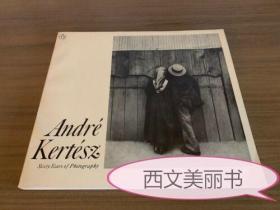 【包邮】1978年版 Andre Kertesz: Sixty Years of Photography