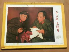 铁皮画(东方红,太阳升)