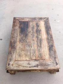 清代老榆木炕桌,全品,结实牢固正常使用!