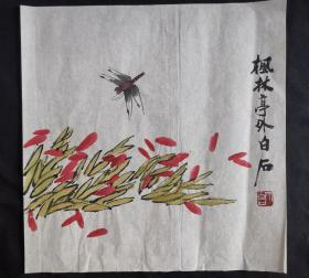 花草蜻蜓34*34齐